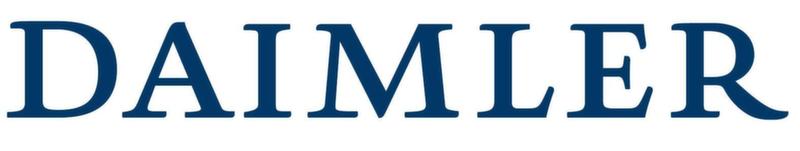 Daimler AG Automotive Textual Logo