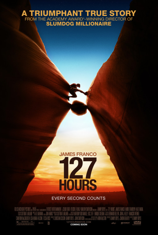 Design inspiration from Movie poster- 127 hours