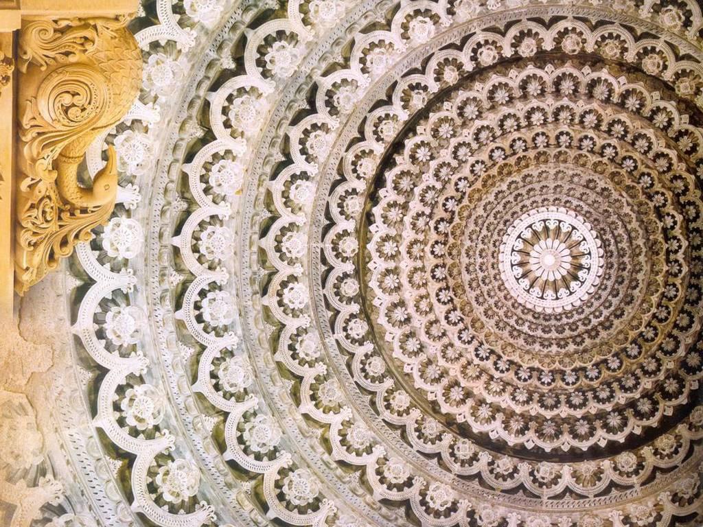 Design inspiration in architecture- Carvings inside Akshardham