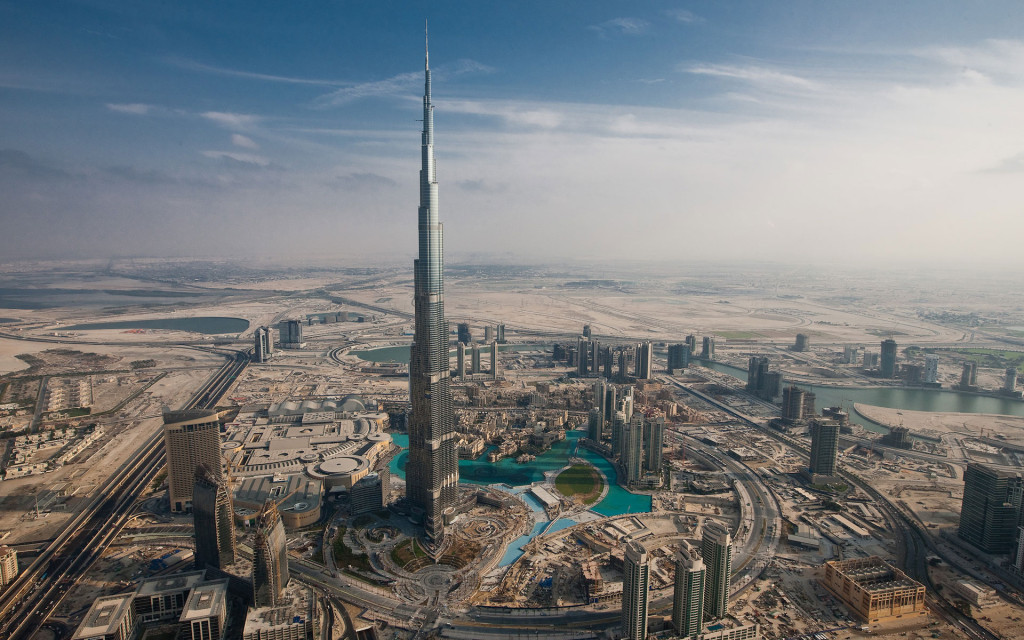 Architectural design inspiration- Burj Khalifa skyscraper