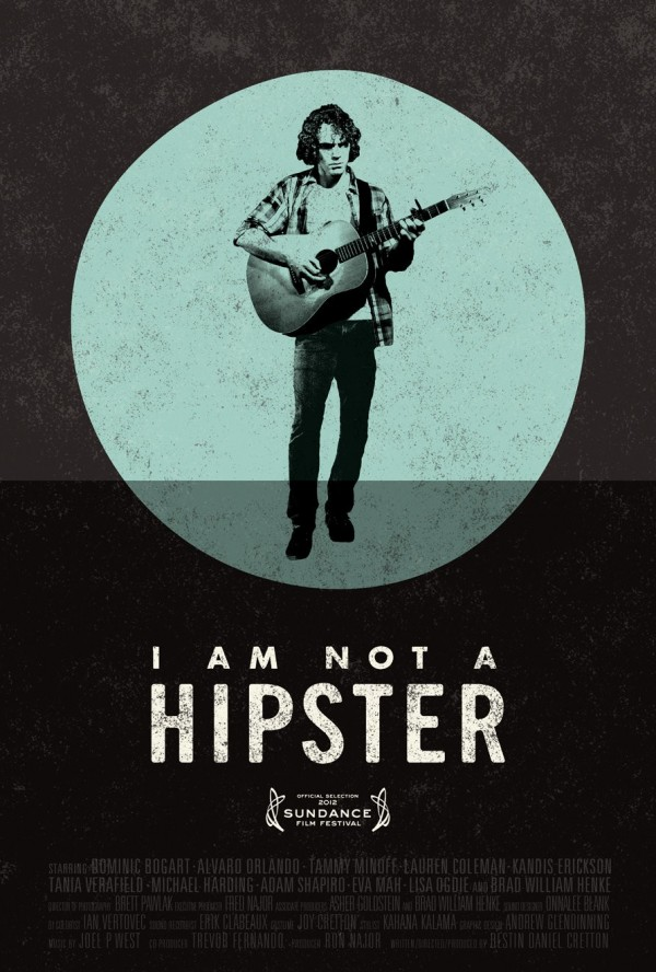 Movie poster design inspiration- I am not a hipster