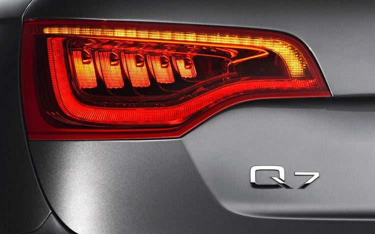 Cars design inspiration- creative tail light in Audi Q7