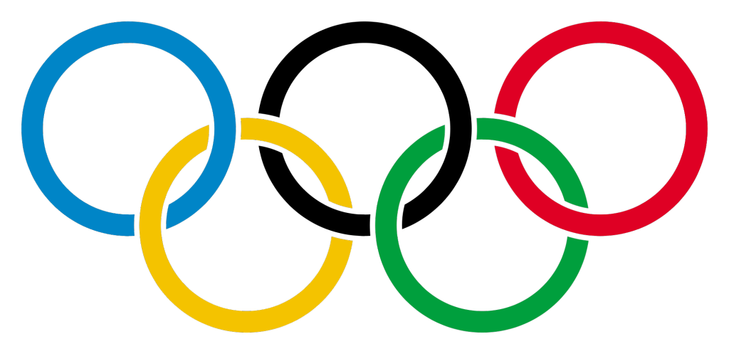 Olympic games timeless logo
