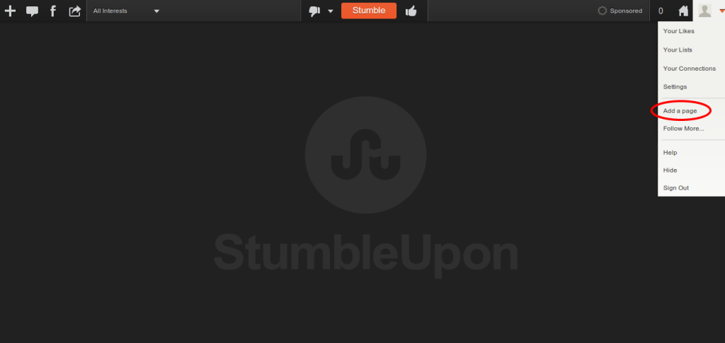 Stumbleupon Submit For Social Sharing