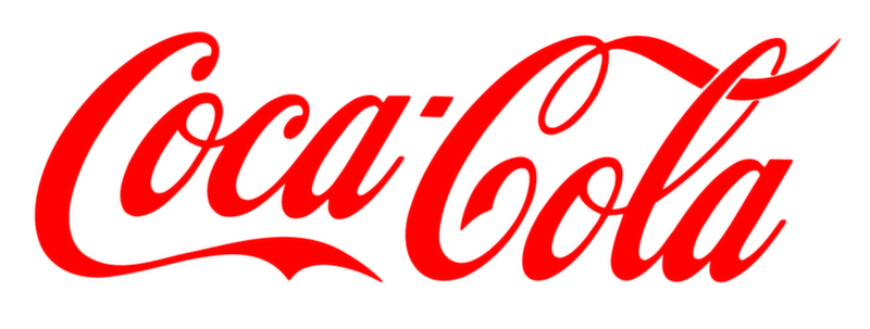 Coca Cola Beverages Textual Logo