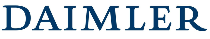 Daimler AG Automotive Textual Logo