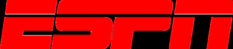 ESPN Sports Television Textual Logo