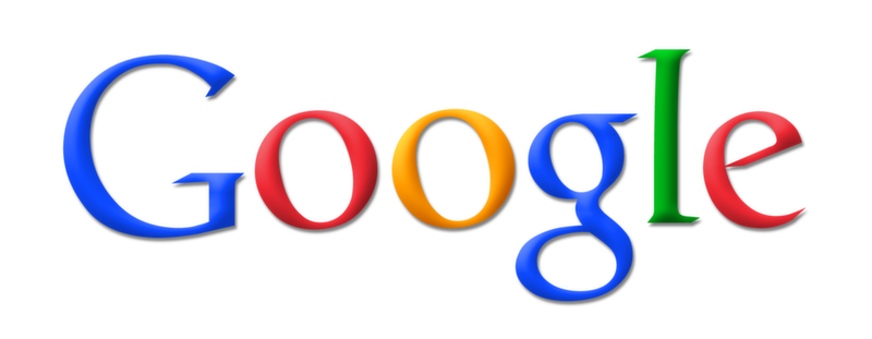 Google Search Engine Textual Logo