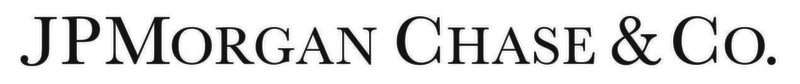 JPMorgan & Chase Financial Services Textual Logo