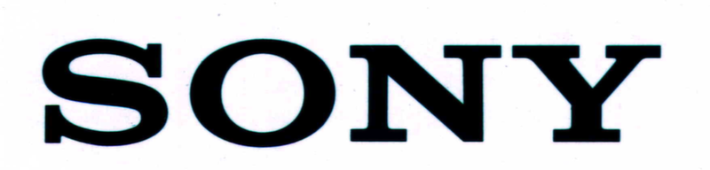 Sony Electronics Text Logo