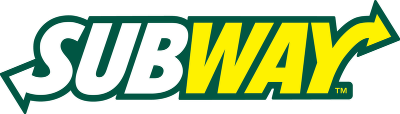 Subway Restaurant Chain Logo Text