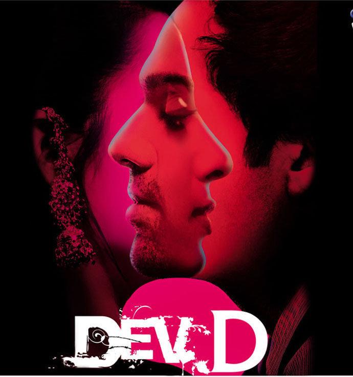 movie poster design inspiration- Dev D