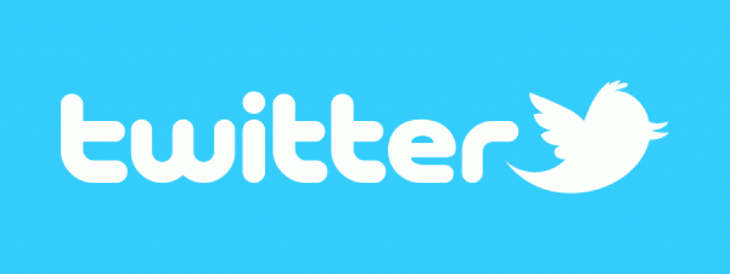 Twitter Text & Icon Logo