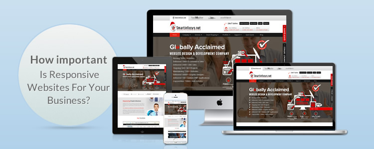 How important is responsive websites for your business?