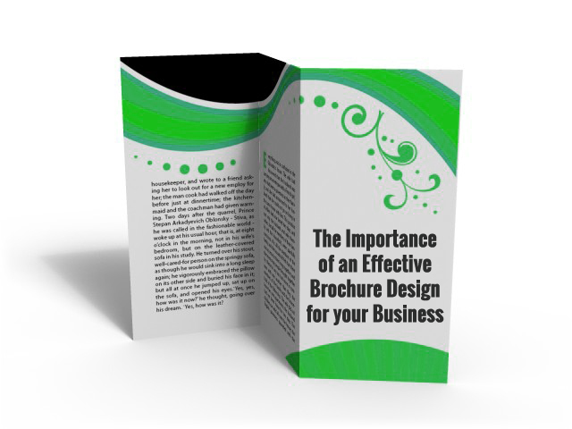 The importance of an effective brochure design for your Business