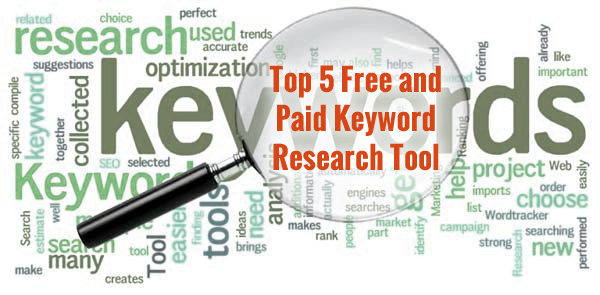 Top 5 Free and Paid Keyword Research Tool