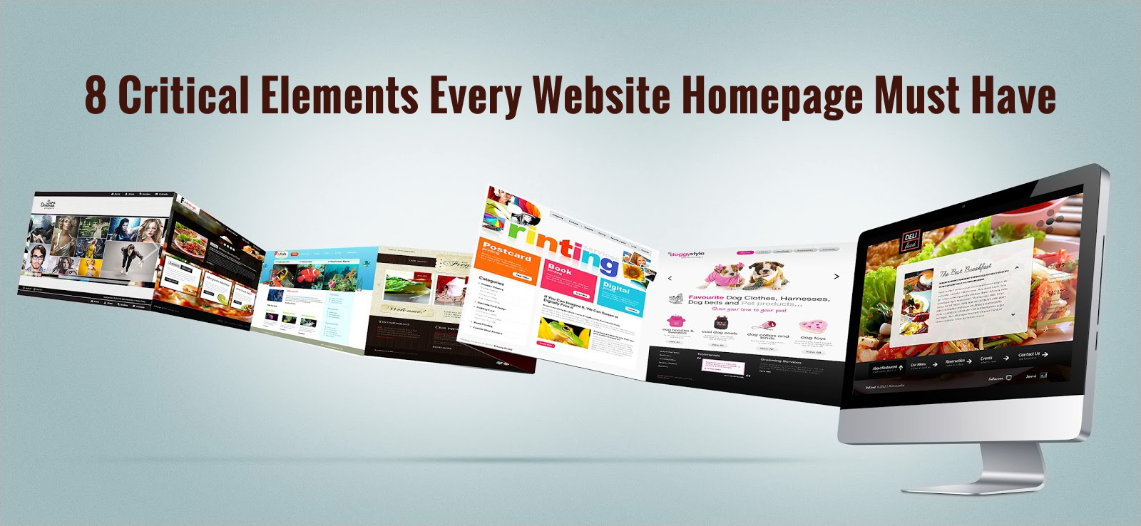 8 Critical Elements Every Website Homepage Must Have