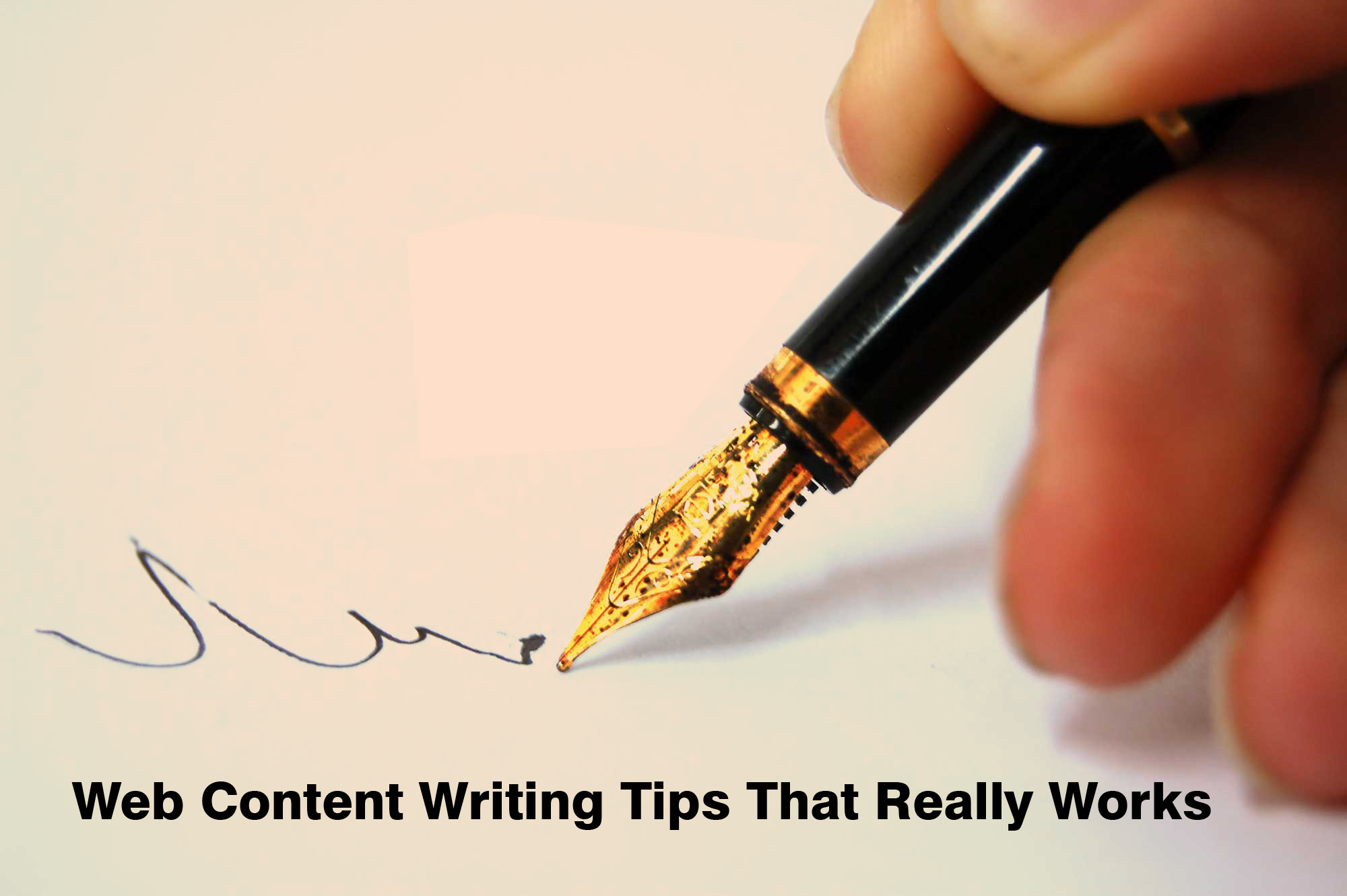 Web Content Writing Tips That Really Works
