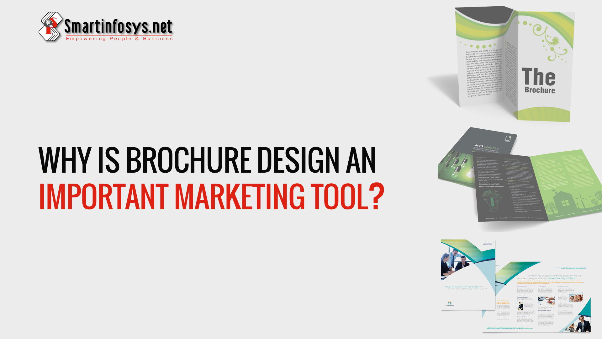 Why Is Brochure Design an Important Marketing Tool?