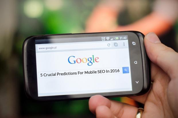 5 Crucial Predictions For Mobile SEO In 2016