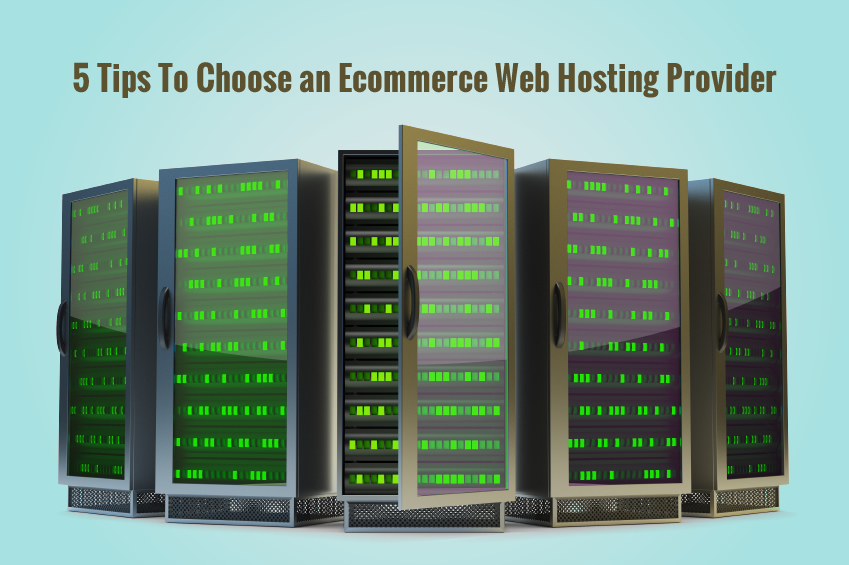 5 Tips To Choose an Ecommerce Web Hosting Provider