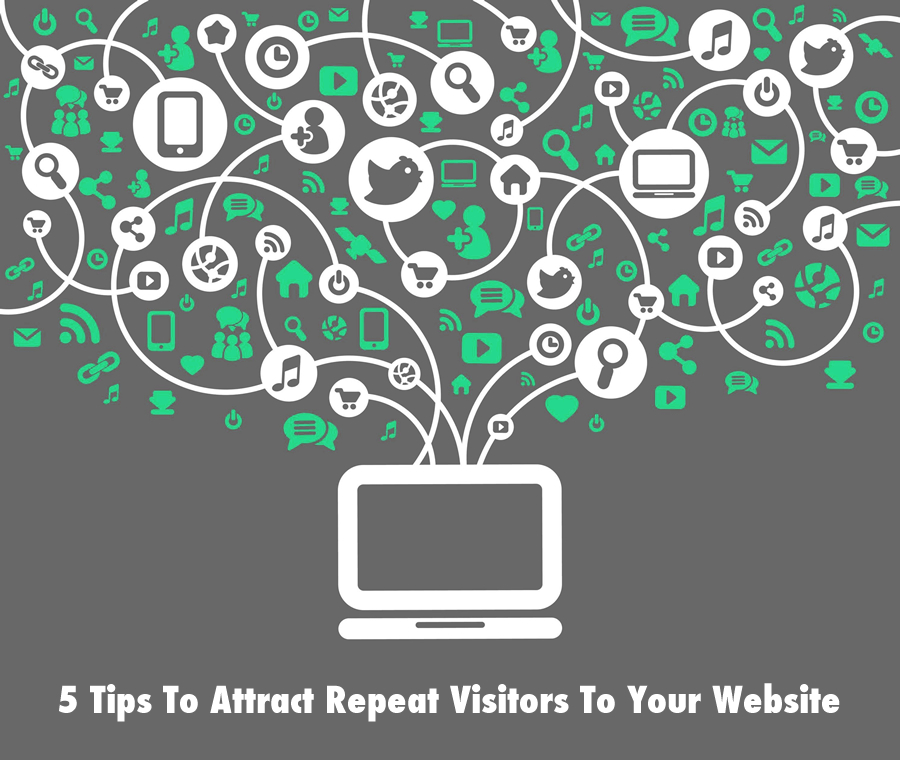 5 Tips to attract repeat visitors to your website