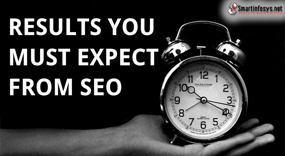 Results You Must Expect From SEO