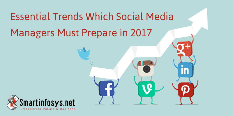 Essential Trends Which Social Media Managers Must Prepare in 2017