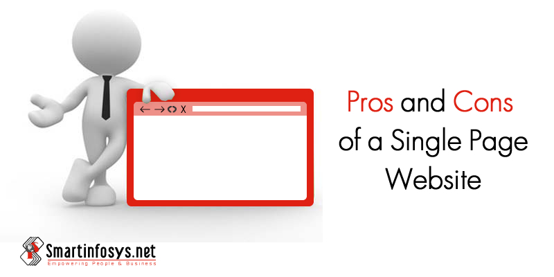 Pros and Cons of a Single Page Website