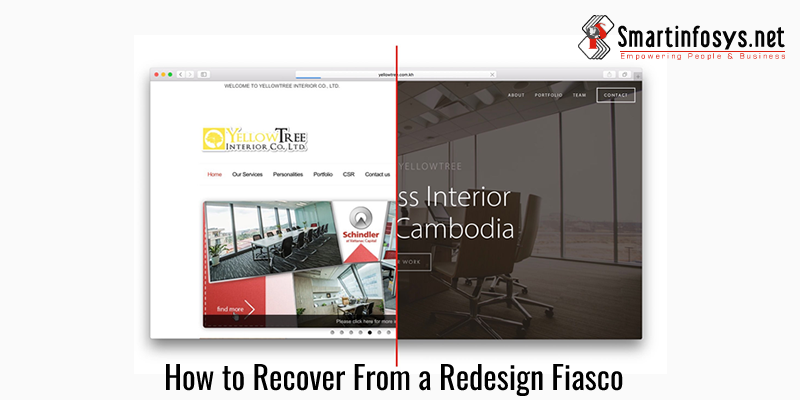 How to Recover From a Website Redesign Fiasco