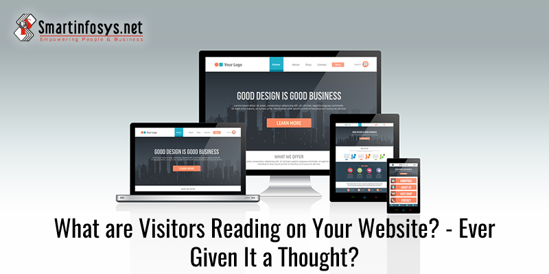 What are Visitors Reading on Your Website? - Ever Given It a Thought?