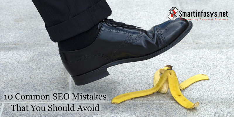 10 Common SEO Mistakes That You Should Avoid for Your Business Website