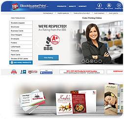 Blockbuster Print - Website Maintenance