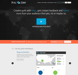 PollDeep- Website Maintenance