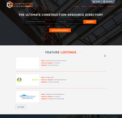 Construction Crowd- Website Maintenance