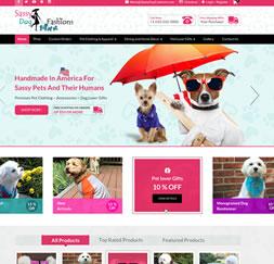 SassyDogFashions- Website Maintenance