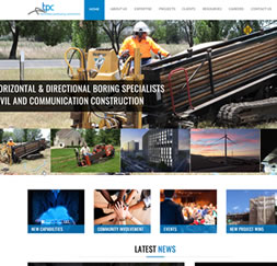 Trenchless Pipelaying Contractors- Website Maintenance