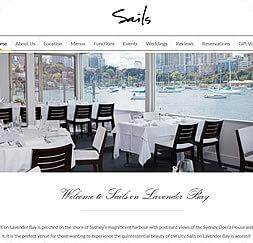 Sails on Lavender Bay - Website Maintenance