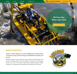 Aquadoc - WordPress website