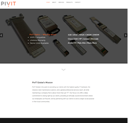 PivIT Global - WordPress website