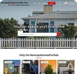 Maricopa Homes For Sale - Wordpress Website Maintenance
