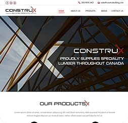 Construx Building Products - Wordpress Website Maintenance