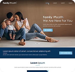 Familywealth- Wordpress Website Maintenance