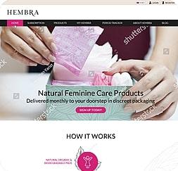 Hembra - Wordpress Website Maintenance