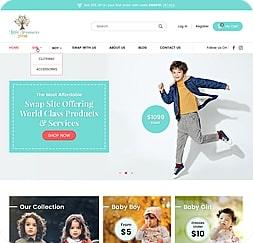 Little Treasures Swap - Wordpress Website Maintenance