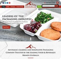 Pinnacle Packaging - Wordpress Website Maintenance