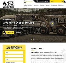 Wyodiesel Service - Wordpress Website Maintenance