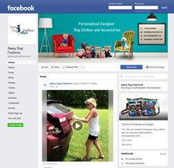 Sassy- SassyDogFashions Social Media Branding