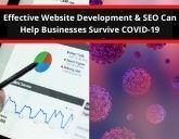 Effective Website Development & SEO Can Help Businesses Survive COVID-19