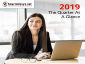 First Quarter of 2019 - The Quarter At a Glance - Smartinfosys - Website Development Company